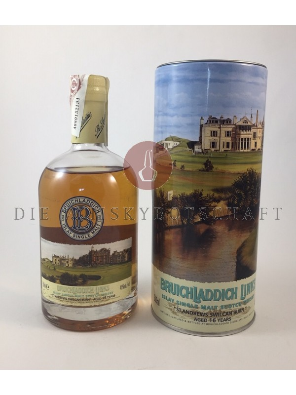 Bruichladdich Links - 16 Jahre - St. Andrews Swilcan Burn 500ml