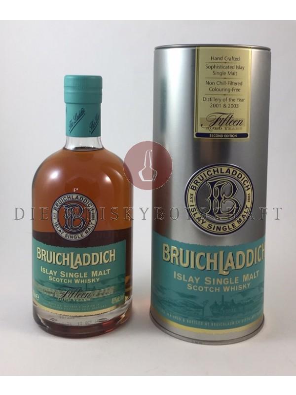 Bruichladdich 15 Jahre Fifteen Second Edition Top Rarität