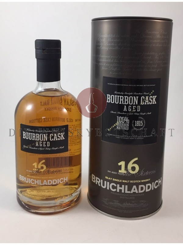 Bruichladdich 16 Jahre Bourbon Cask Top Rarität