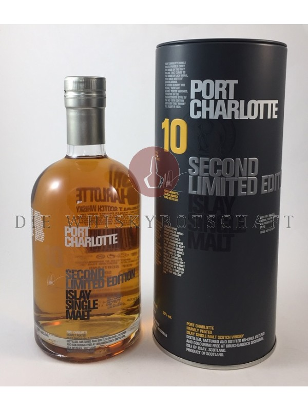 Bruichladdich Port Charlotte 10 Second Limited Edition