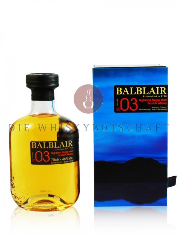 Balblair Vintage 2003 / 2015 12 Jahre