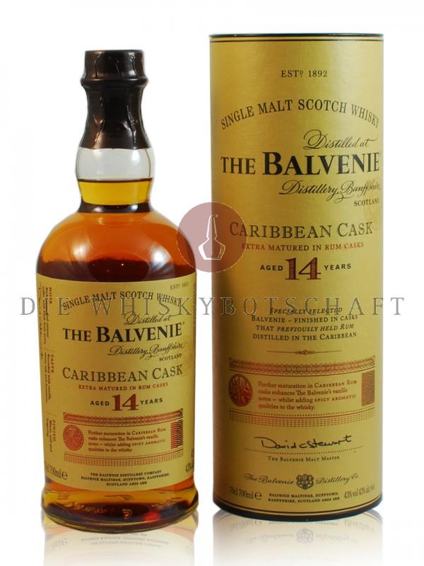 Balvenie 14 Jahre Caribbean Cask