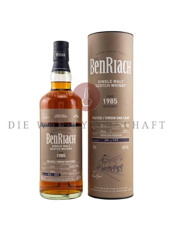 Benriach 1985 /2019 Peated Virgin Oak Cask 33 Jahre - Rarität