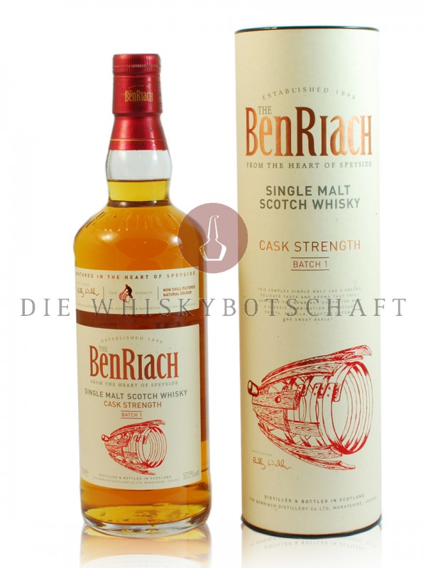 BenRiach Cask Strength Batch 001