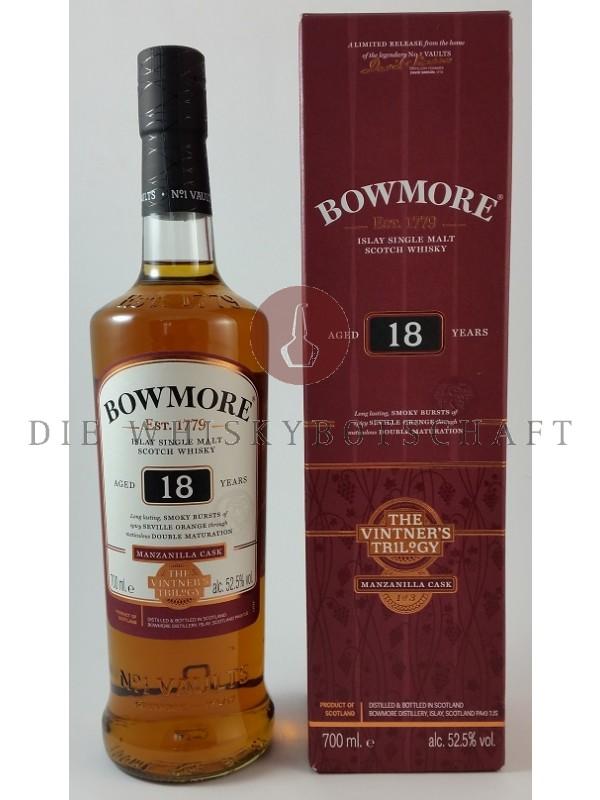 Bowmore 18 Manzanilla Vintners Trilogy