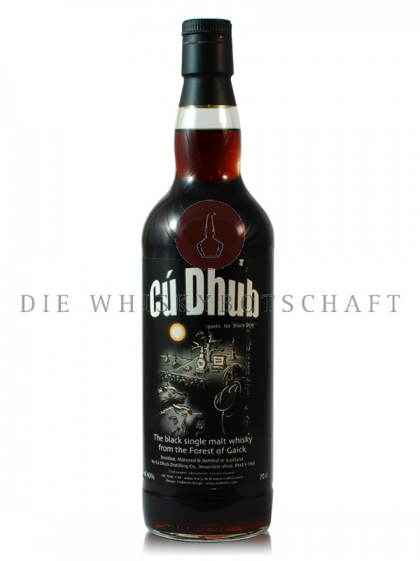 Cú Dhub - The Black Single Malt Whisky