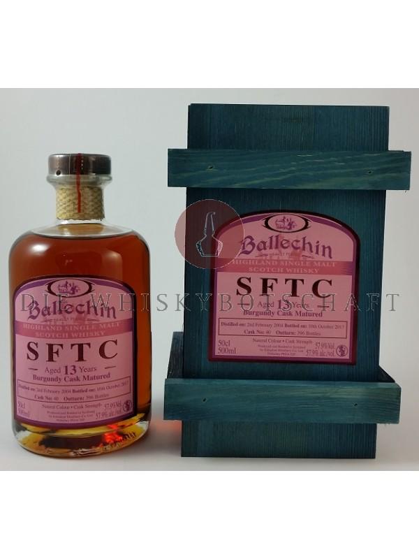 Edradour Ballechin SFTC 13 Jahre Burgundy Cask