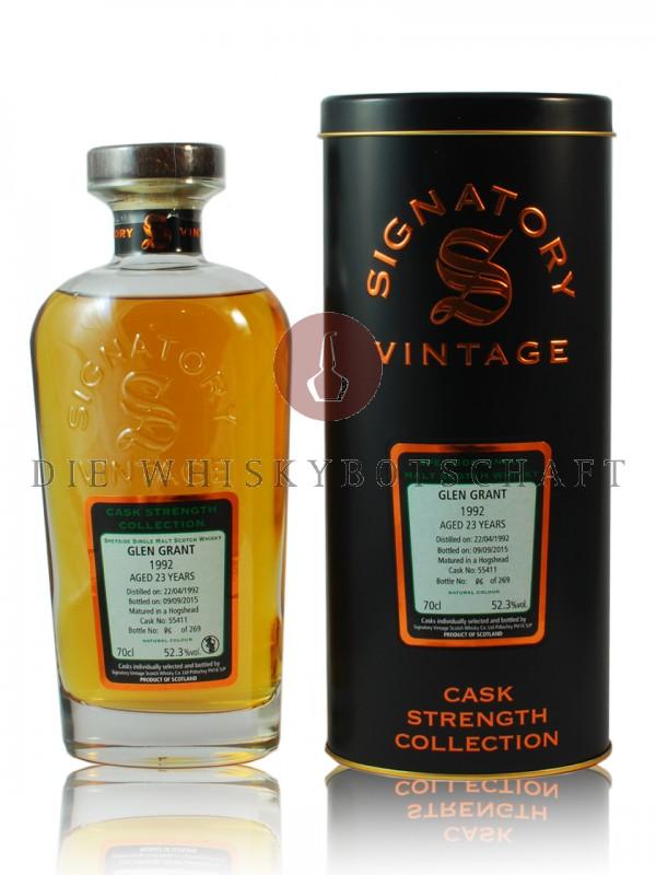 Glen Grant 23 Jahre 1992 / 2015 Signatory CS