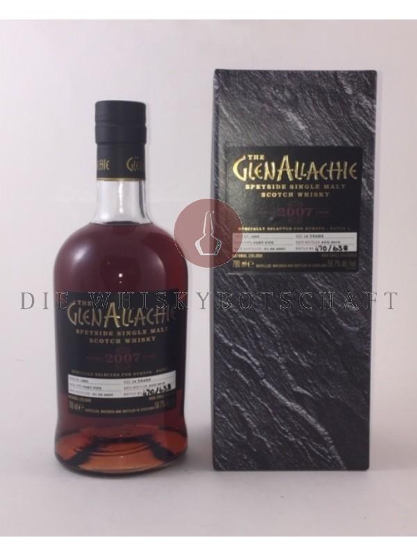 GlenAllachie 2007 / 2019 Single Cask 1860 - Port Pipe
