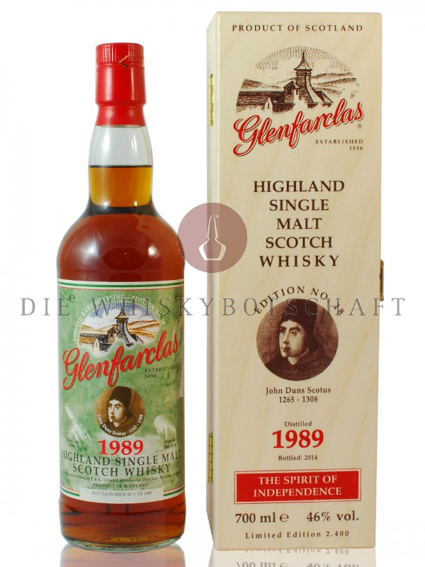 Glenfarclas Sonderedition No.18 John Duns Scotus Vintage 1989