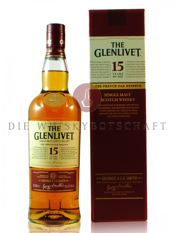 Glenlivet 15 Jahre The French Oak Reserve