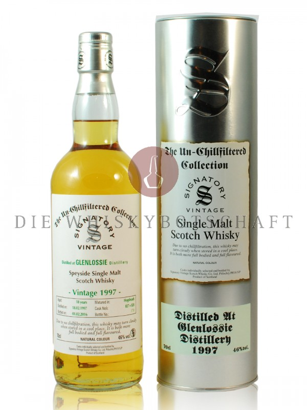 Glenlossie 18 Jahre 1997 The Un-Chillfiltered Collection Signatory