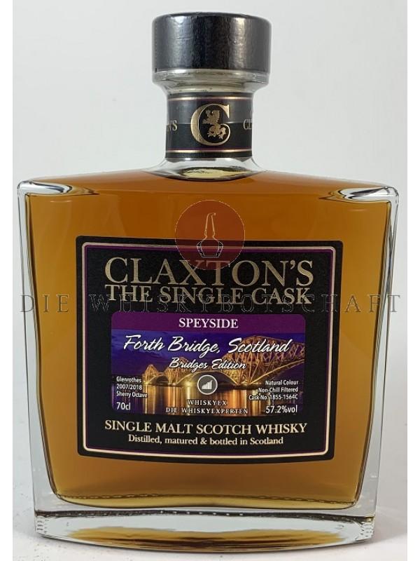 Glenrothes 2007 / 2018 11 Jahre Bridges Edition Octave Cask von Claxton`s