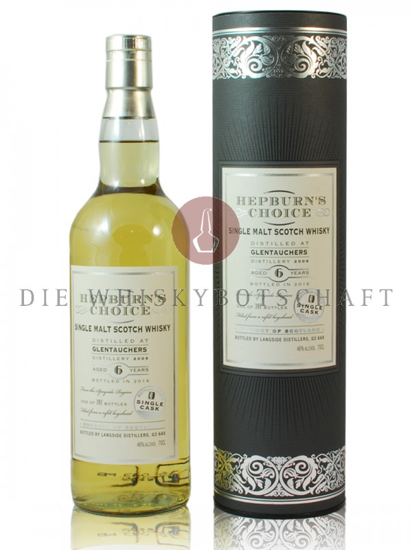 Glentauchers 6 Jahre Single Cask Hepburn`s Choice
