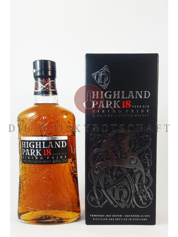 Highland Park 18 Jahre
