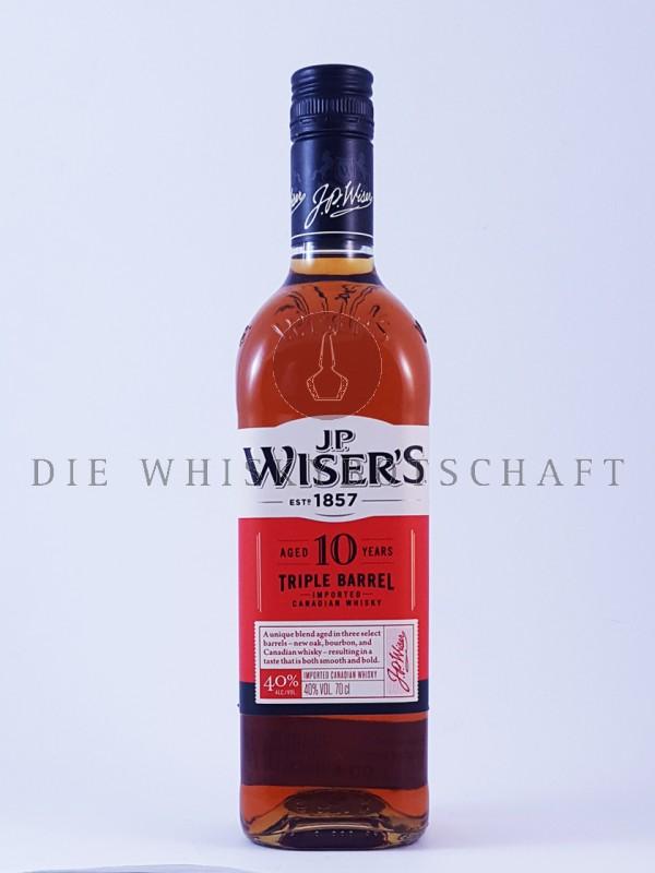J.P. Wisers 10 Jahre Triple Barrel