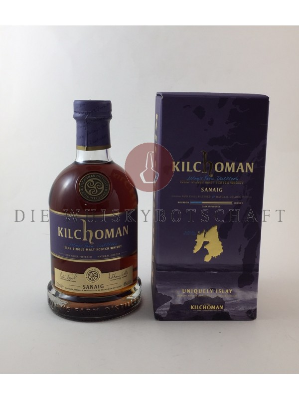 Kilchoman Sanaig  - very dark -