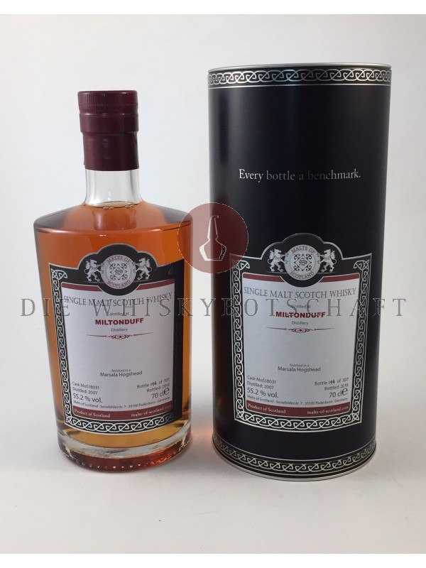 Miltonduff 2007 / 2018 Marsala Single Cask - Malts of Scotland