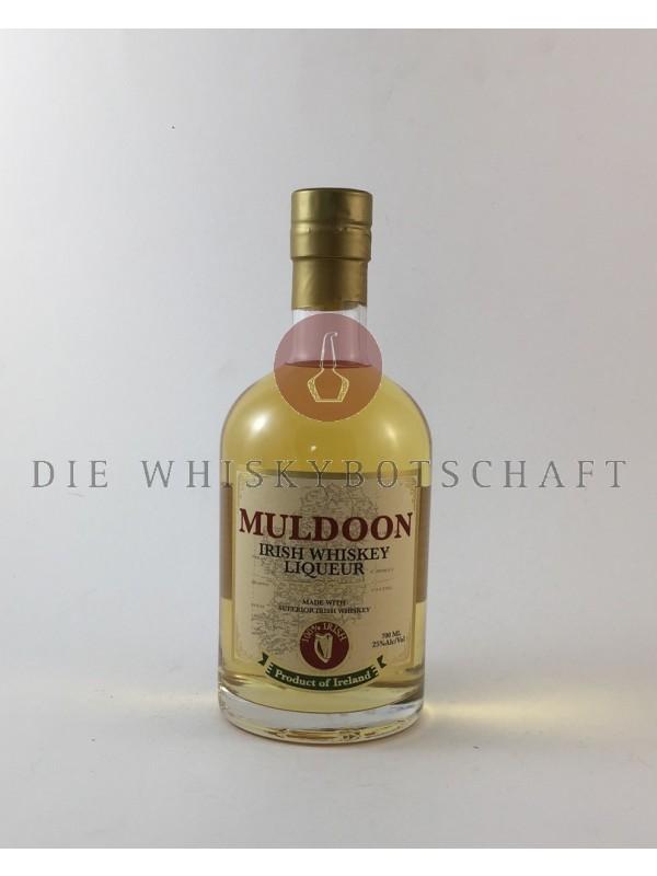 Muldoon Irish Whiskey Likör - prämiert mit der Goldmünze