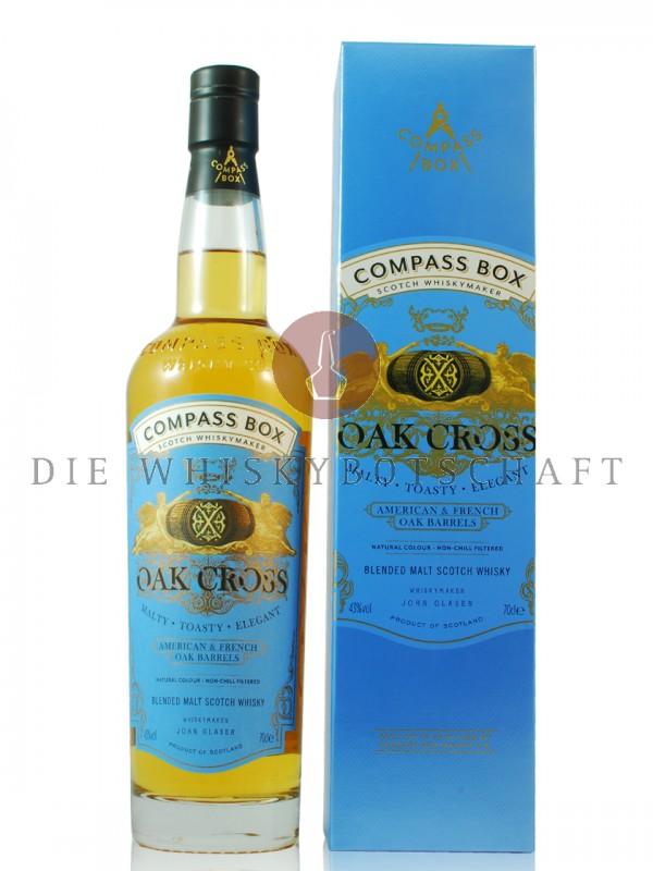 Oak Cross Compass Box