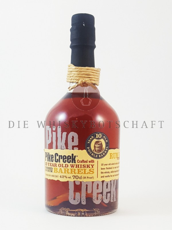 Pike Creek 10 Jahre Rum Barrels