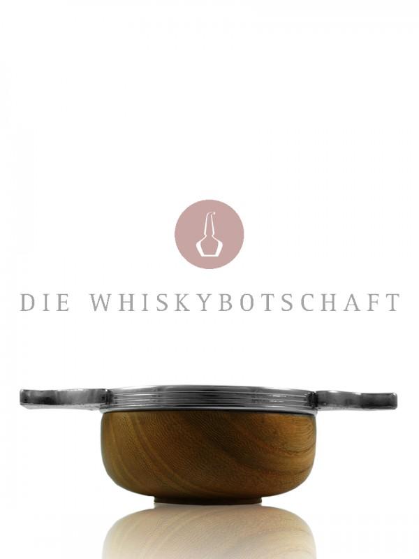 Quaich Holz / Hartzinn, klein