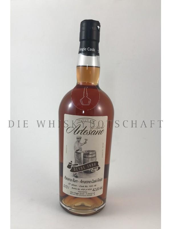 El Ron del Artesano 11 Jahre Panama Rum - Amarone Cask Finish