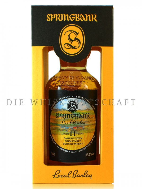 Springbank 11 Jahre 2006 / 2017 CS local Barley