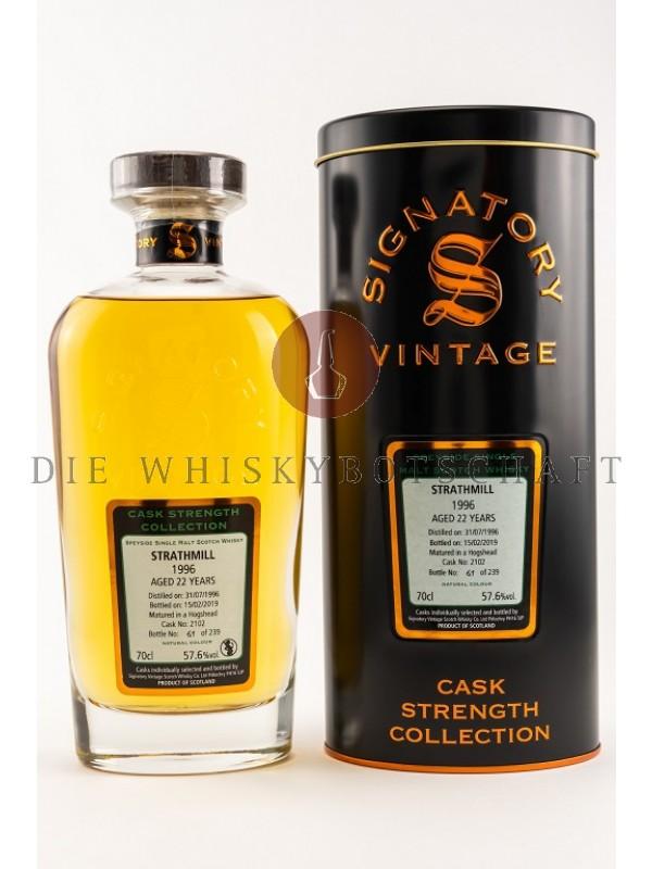 Strathmill 22 Jahre 1996 / 2019 CS Signatory