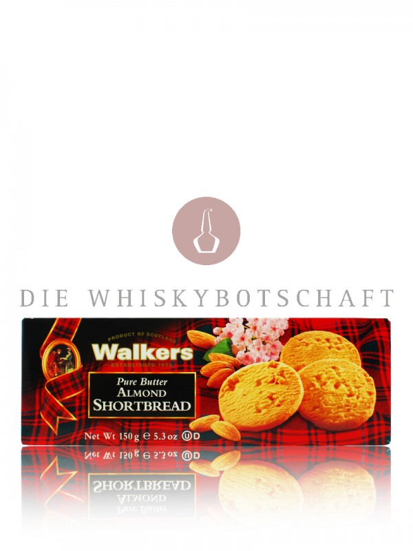 Walkers Almond Shortbread 150 g