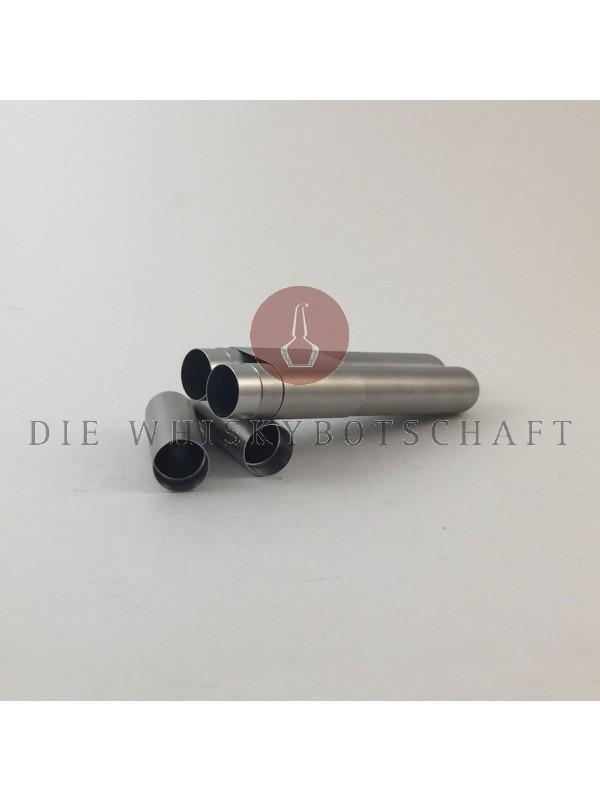 Adorini Zigarrenhülse 2er Edelstahl 21 cm Außenlänge