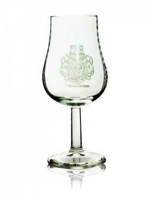 """Nosing Glas mit Wappen """"Ritter von Henriquez"""""""