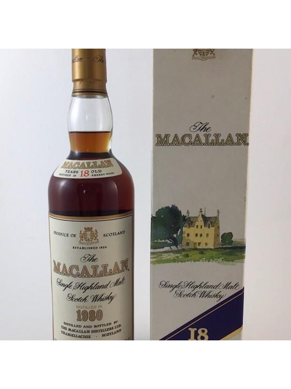 Macallan 18 1980 / 1998 18 Jahre - Originalabfüllung - Top Rarität