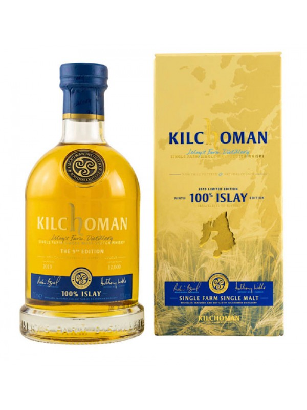 Kilchoman 100% Islay Whisky 10th Edition