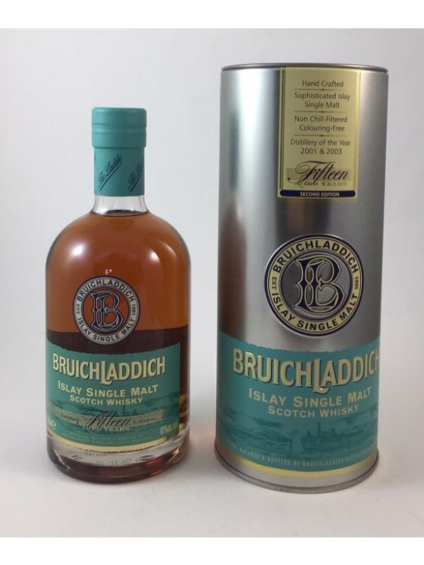Bruichladdich 15 Jahre Fifteen Second Edition Top Rarität - Top Zustand