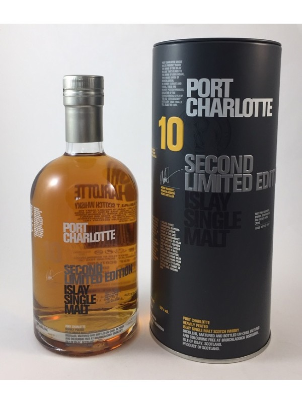Bruichladdich Port Charlotte 10 Second Limited Edition