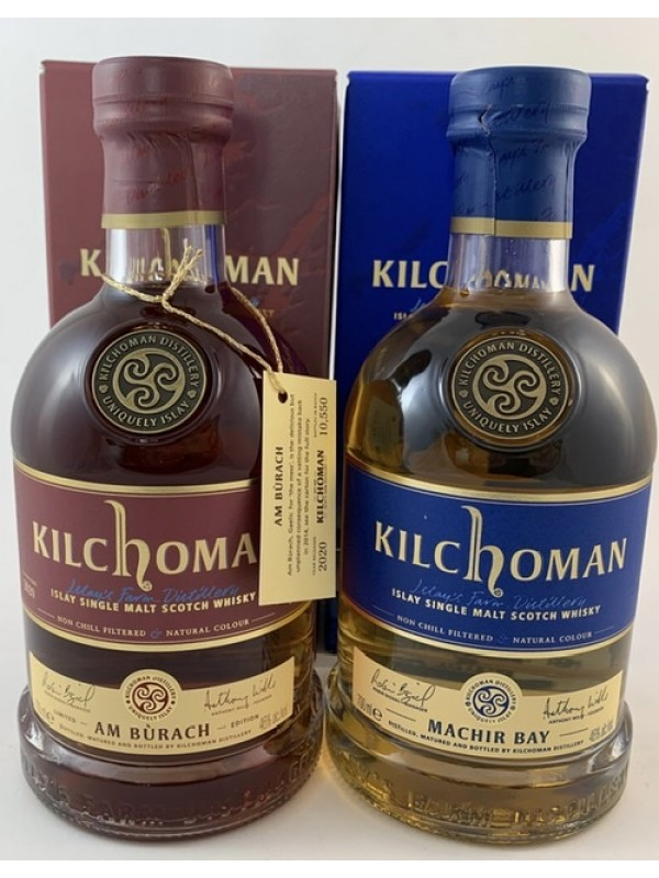 Kilchoman Am Burach mit Sample und Machir Bay Value Pack - limitiert! Mit 2cl Gratis-Sample