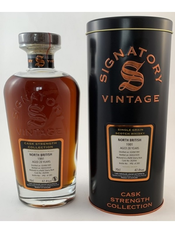 North British 28 Jahre Signatory Vintage