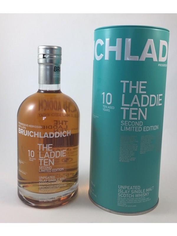 Bruichladdich 10 Jahre - The Laddie Ten - Second Limited Edition