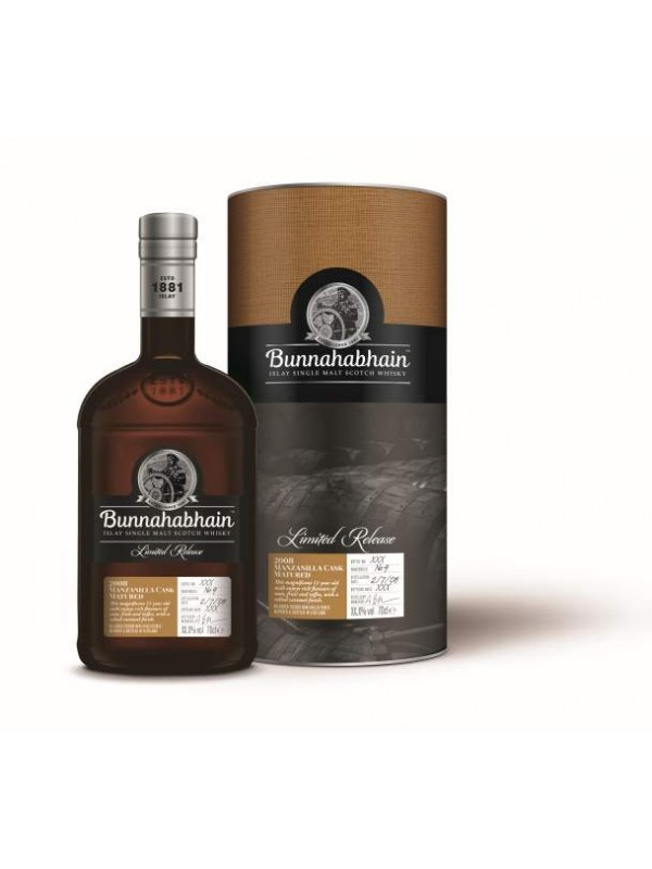 Bunnahabhain 2008 Manzanilla Cask - Limited Edition