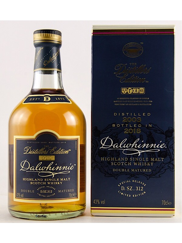 Dalwhinnie Distillers Edition 2003 / 2018