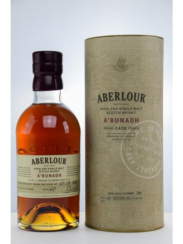 Aberlour a'bunadh Batch 60