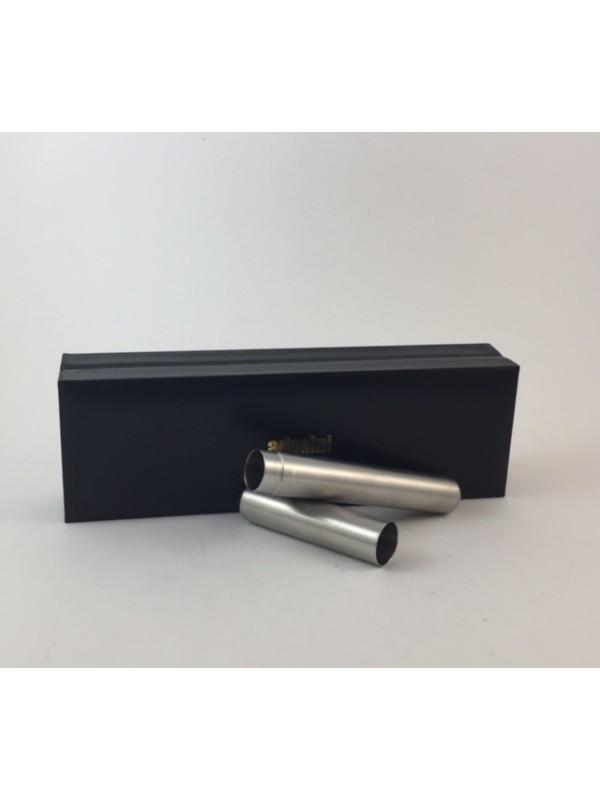 Adorini Zigarrenhülse Edelstahl 21 cm Außenlänge