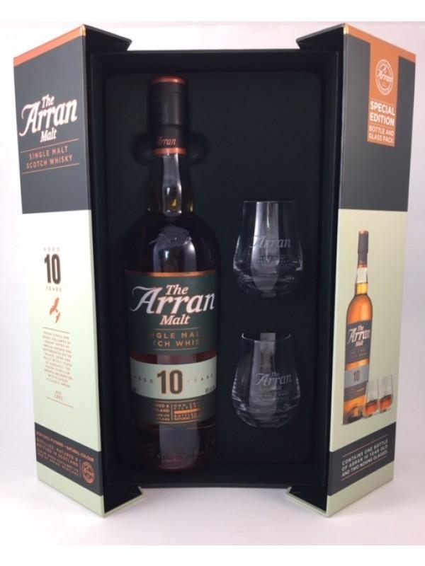 Arran 10 Jahre - Special Edition mit 2 Nosing-Gläsern