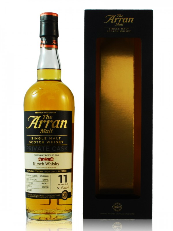 Arran 11 Jahre 2005 / 2017 Private Cask