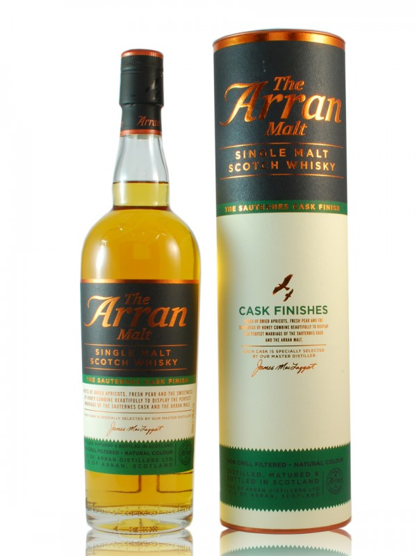 Arran Sauternes Wood Finish