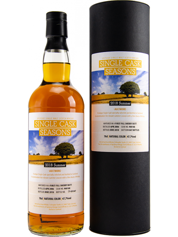 Aultmore 2006/2018 Single Cask Seasons Summer 2018