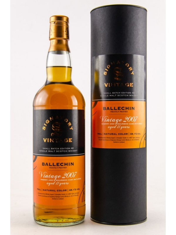 Ballechin 2007/2018 Signatory Small Batch Edition #2