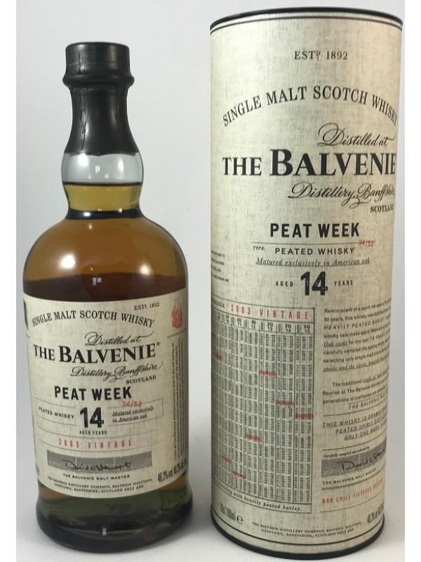 Balvenie 14 Jahre Peat Week