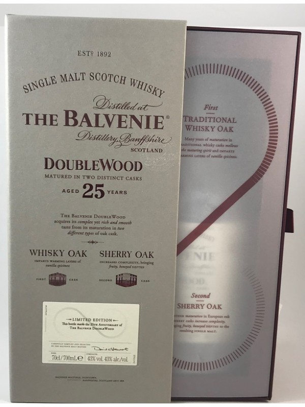 Balvenie 25 Jahre Double Wood 25th Anniversary Edition Limited Edition